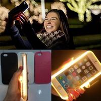 Lumee Iphone 6 Plus/S için Led Işıklı Rose Gold Kılıf cin43sr