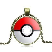 Pokemon Bakır Rengi Metal Kolye dg28