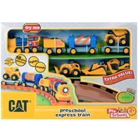 Cat Sesli - Işıklı Küçük Tren ve Oyun Seti