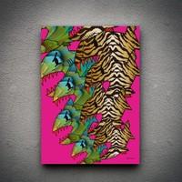 Zoodesignstudio Ayı Kanvas Tablo Tooo144 - 100X150