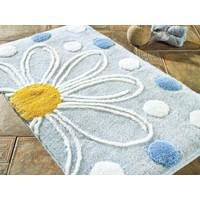 Confetti Alinda 60x100 cm Açık Mavi Banyo Halısı