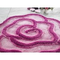 Confetti Afrodis Vişne Köpüğü Banyo Halısı 80 Cm