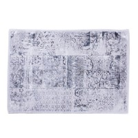 My Home My Home Patchwork Gümüş Halı | 80x150 cm