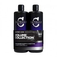TIGI Catwalk Volume Collection Hacim şampu krem 2x750ml set