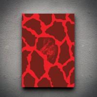 Zoodesignstudio Kanvas Tablo Pembe - 100X150