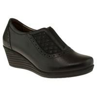 Forelli 10132 Flex Serit Comfort Feta Siyah Kadın Ayakkabı