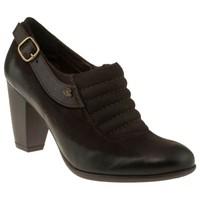 Venus 70364 Yanda Toka Topuklu Kahverengi Kadın Ayakkabı