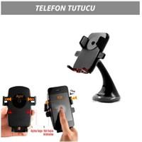 Araç İçi Telefon Tutucu Bas-Bırak Siyah 5901010
