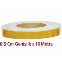 Fosfor Bant 0.5Cmx10Mt Sarı