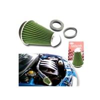 Hava Filtresi 2 Aparatlı(Dar-Geniş Ağızlı) Krom-Yeşil