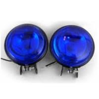 Sis Lambası Oben Yuvarlak 9Cm Mavi Takım