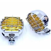 Sis Lambası Sarı Yuvarlak 4X4 Nikelaj Adet 3017101