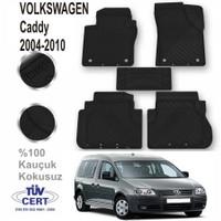 Volkswagen Caddy 2004 - 2010 Lüx Kauçuk Paspas Siyah