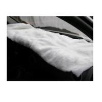 Peluş Örtü Kamyon Beyaz 220Cmx40Cm