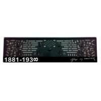 Plakalık Pilastik 1881-1938 İmzası Yazılı (Adet)