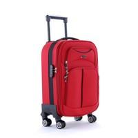Ççs 095 4 Tekerlekli Kabin Boy Valiz Kırmızı