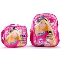 Barbie 86208 Lisanslı Okul Çantası Seti
