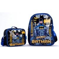 Batman 88129 Lisanslı Okul Çantası Seti
