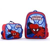 Spiderman 88071 Lisanslı Okul Çantası Seti