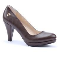 Cudo Platform Topuk Cilt Bayan Ayakkabı
