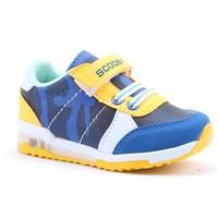 Scooby 210 Bebe Işıklı Cırtlı Erkek Çocuk Spor Ayakkabı