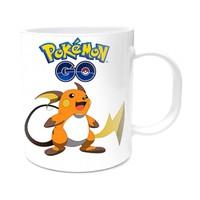 Pokemon Tasarımlı Kupa Bardak Raichu