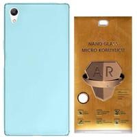 Exclusive Phone Case Sony Xperia Xa Ultra Kılıf 0.2 Silikon Nano Ekran Koruma Film