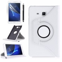 Exclusive Phone Case Samsung Galaxy Tab A T580 Kılıf Tam Koruma +Tempered Glass+KalemOtg Kablo