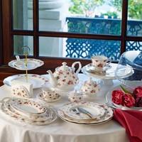 Pierre Cardin Rosa 45 Parça 6 Kişilik Kahvaltı Seti