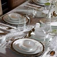 Pierre Cardin Demure 86 Parça Premium Porselen Yemek Takımı