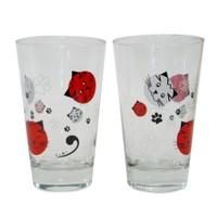 Cats by Luyano Pon-Pon Meşrubat Bardağı 2 li