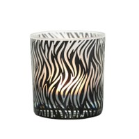 Arte Home Flame Siyah Mumluk