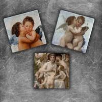Oscar Stone Angels Magnet