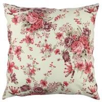 Gravel Dekoratif Soft Çiçekli Yastık
