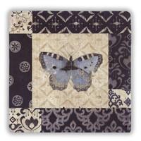 Oscar Stone Blue Butterfly Taş Tablo