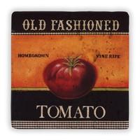 Oscar Stone Old Fashioned Tomato Taş Tablo