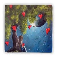 Oscar Stone Dream Heart Taş Tablo