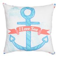 Dolce Home Nautica Kare Yastık-Love Sea