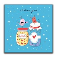 Dolce Home I Love You - 2 Dekoratif Tablo K20m86