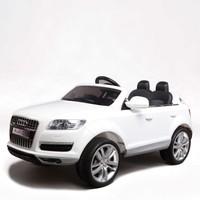 Baby&Toys Audi Q7 Akülü Jip Beyaz