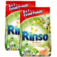 Rinso Matik Toz Deterjan Kır Bahçesi 7 Kg x 2 Adet