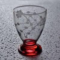 Başak 41011 Çın Çın 12 Adet (Kırmızı Selvi) Su-Meşrubat Bardaği