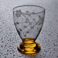 Başak 41011 Çın Çın 12 Adet (Turuncu Selvi) Su-Meşrubat Bardaği