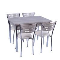 """Mutfak Masa Sandalye Takımı """"Açılır"""" +4 Sandalyeli Kordoba"""