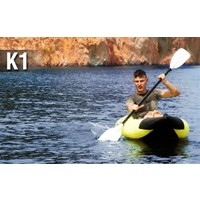Aqua Marina K1 1 Person Kayak-Inflatable Floor