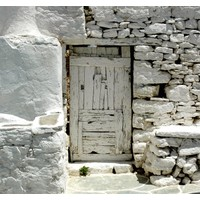 Fotocron Tahta Beyaz Kapı Tablo