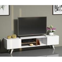 Hepsiburada Home Tv Ünitesi Ceviz Beyaz