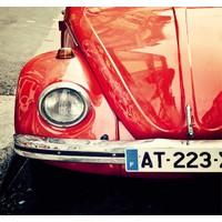 Fotocron Kırmızı Araba Tablo