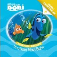Disney Kayıp Balık Dori Çıkartmalı Eğlence Unutkan Mavi Balık