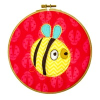 Dolce Home Wall Hoops, Kids Sarı Böcek